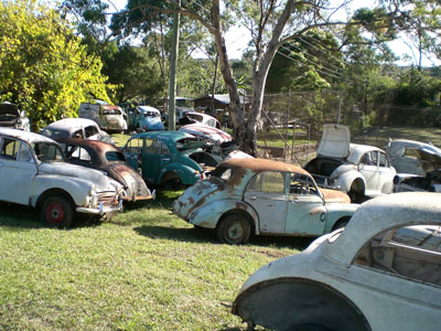 With Allan's love for cars comes his obsession with collecting them, out of all the classic cars Allan's Motor Engineering services he only has one love for the Morris Minor.