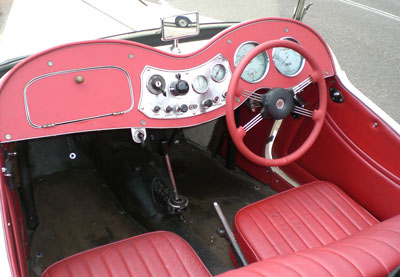 If you thought a MGTD couldn't get any cooler than look no further than Allan's Motor Engineering interior refurbishment performed by the professionals at Northmead, Parramatta, Sydney NSW.
